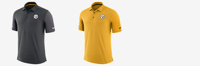 9cbed2776 Pittsburgh Steelers Polos (3). Sort By