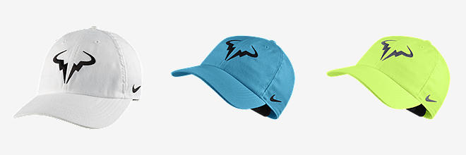 f830cf674ea73 Next. 3 Colors. NikeCourt AeroBill Rafa Heritage86. Tennis Hat