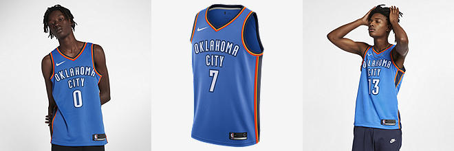 72bccaf58aa ... 13 paul george jersey 2017 18 new season blue jersey  prev. next. 3  players available. russell westbrook oklahoma city thunder nike icon edition