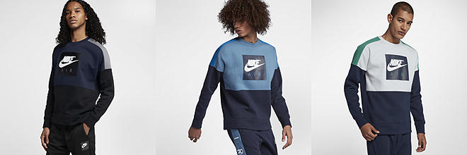 Next. 3 Colours. Nike Air. Men's Fleece Crew