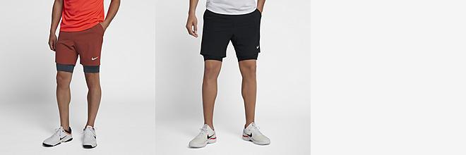 562700f36970d Shorts de tenis estampados para hombre.  1
