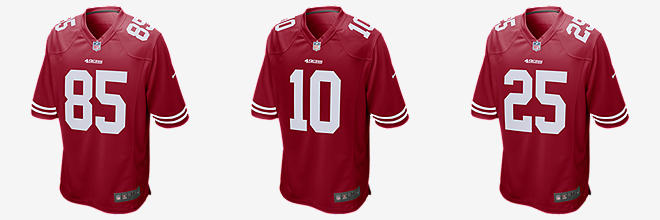710db8ddf NFL San Francisco 49ers Game (Jimmy Garoppolo). Men s Football Jersey.   100. Prev