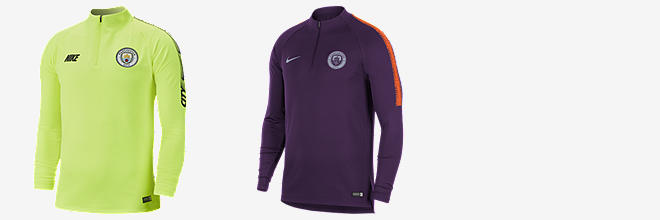 Prev. Next. 2 Colores. Manchester City FC Dri-FIT Squad Drill. Camiseta de  fútbol de manga ... a0ecff6fbb86