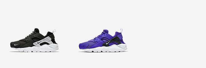 nike huarache purple