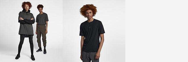 Men's Short Sleeve Top Nike Sportswear Tech Pack