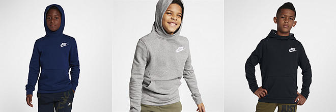 116f11eed3fd Nike Sportswear Club Fleece. Big Kids  (Boys ) Pullover Hoodie.  50. Prev