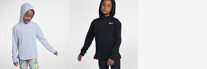 new arrival 31062 65c9e Prev. Next. 2 Colors. Nike Dri-FIT. Big Kids  (Girls ) Training Pullover  Hoodie