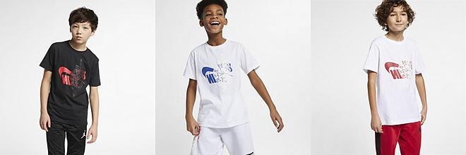 2e5b164dcb6dfa Boys  Jordan Lifestyle Short Sleeve Shirts. Nike.com