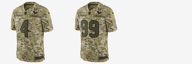 deshaun watson military jersey