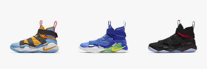 182057c824888 Boys' LeBron James Nike FlyEase Basketball Shoes. Nike.com
