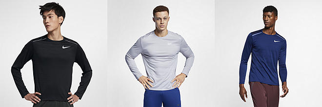 7ffa74e798b7 Prev. Next. 3 Colors. Nike Dri-FIT Miler. Men s Long-Sleeve Running Top