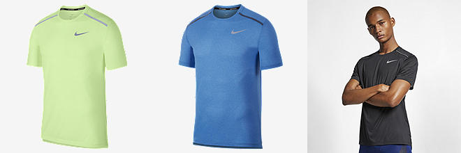 575ed0e1 Prev. Next. 3 Colours. Nike Dri-FIT Miler. Men's Running Top
