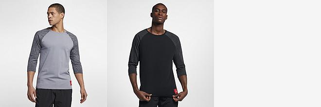 Men's Jordan Long Sleeve Shirts (12)