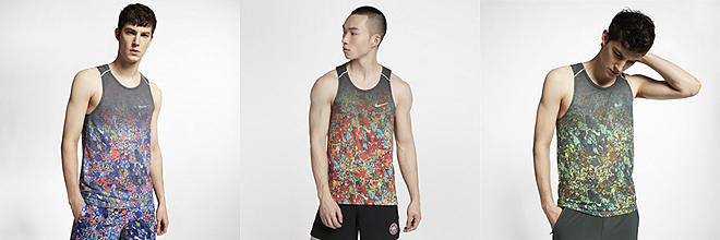 540be5c2 Next. 4 Colors. Nike Rise 365. Men's Printed Running Tank