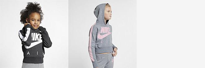 2bb17ec30dd Prev. Next. 2 kleuren. Nike Air. Korte hoodie voor meisjes