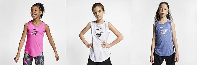 fc8461c1f308c Girls  Tops   T-Shirts. Nike.com