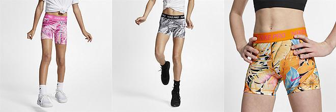 6a0a730e0 Nike Dri-FIT Tempo. Big Kids' (Girls') Printed Running Shorts. $28. Prev