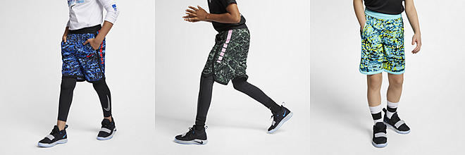 e0fcbf060e80 Nike. Big Kids  (Boys ) Printed Basketball Shorts.  40. Prev