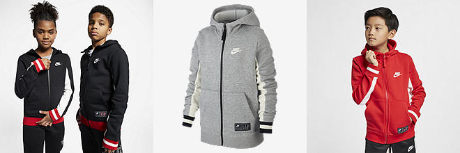 84e145de4da9ee Prev. Next. 3 Colors. Nike Air. Big Kids  Full-Zip Hoodie