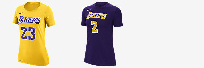 ed9f4977 Prev. Next. 2 Colors. LeBron James Los Angeles Lakers Nike Dri-FIT. Women's NBA  T-Shirt
