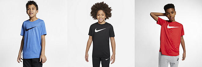 2e3eea66a615 Boys  Shirts   Tops. Nike.com