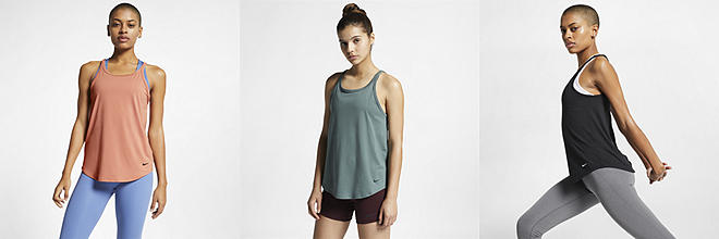 f5e1a53c714 Next. 4 Colors. Nike. Women s Yoga Training Tank