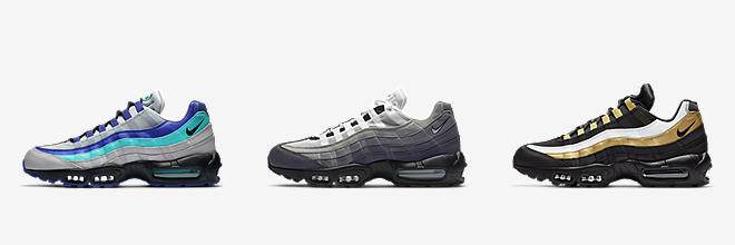 d75346639563 Air Max 95. Add a classic to your sneaker rotation with a pair of Air Max  95 shoes from Nike.
