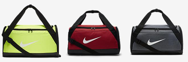 Nike Team Training Max Air Medium Duffel Bag Gym Red