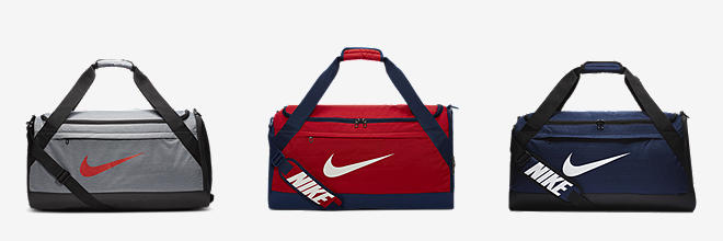 new style d8c5d f8bf1 Nike Brasilia. Printed Training Duffel Bag (Medium).  40. Prev