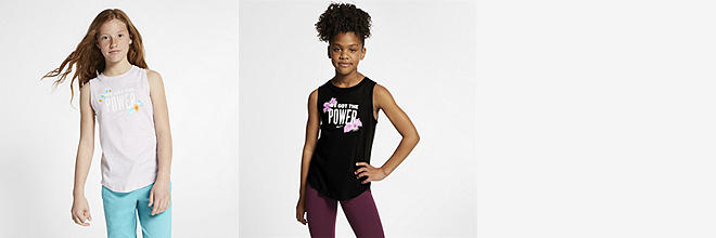 ed28412b5f25b Big Kids  (Girls ) Training Tank Top.  30. Prev