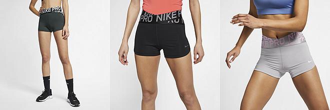 db437b5962a7b Prev. Next. 3 coloris. Nike Pro. Short 7,5 cm pour Femme