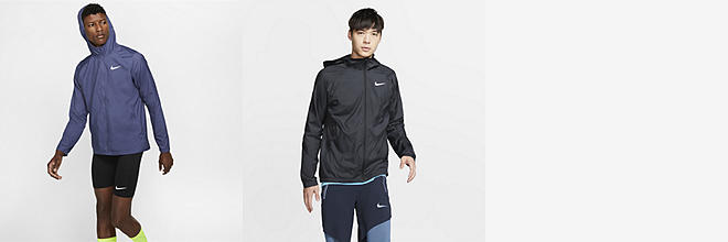 05a4128109121 2 Colors. Nike Tech Pack. Men's Hooded Running Jacket. $175. Prev