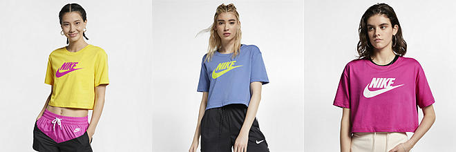 Next. 7 Colors. Nike Sportswear Essential. Women's Cropped T-Shirt