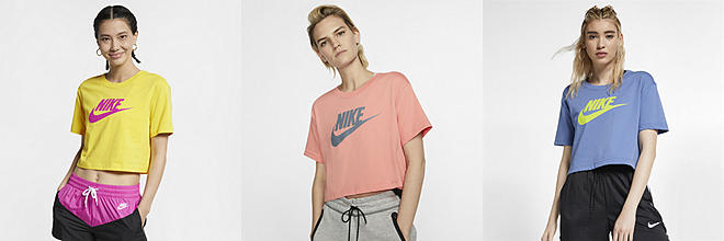 7981f41061 Nike Sportswear Heritage. Women's Short-Sleeve Top. $30. Prev