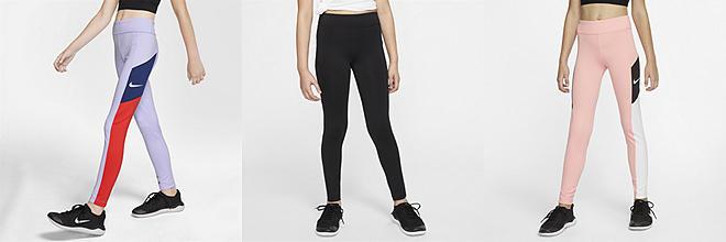 d885cc37636bc0 Girls' Tights & Leggings. Nike.com