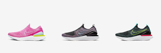 official photos f9672 a6aa1 Prev. Next. 3 Colors. Nike Epic Phantom React Flyknit. Big Kids  Running  Shoe