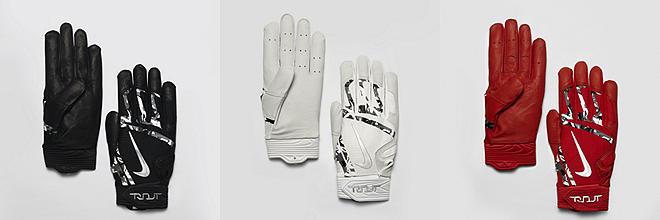 Baseball Fielding and Batting Gloves (4)