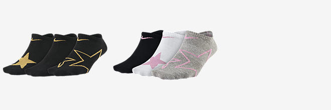 aa7dd73f48 Prev. Next. 2 Colors. Nike Everyday. Big Kids' Graphic No-Show Socks (3 ...