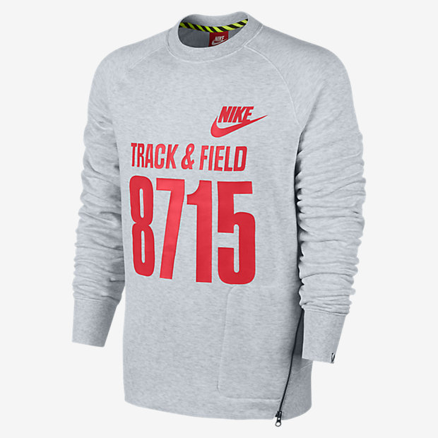 NIKE AW77 TRACK AND FIELD FLY CREW